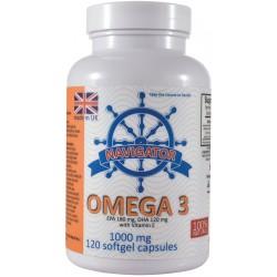 Olej OMEGA-3 z ryb 1000 mg...